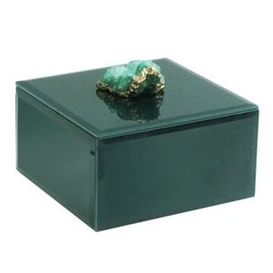 GUC Green and Gold Agate Box